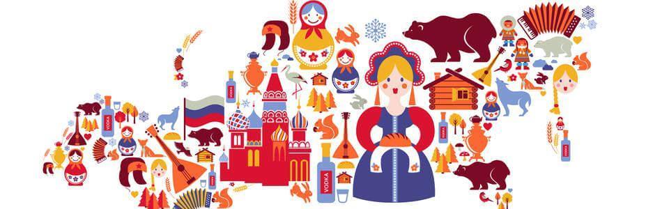 Symbolbild für Russland - Recht und Kultur